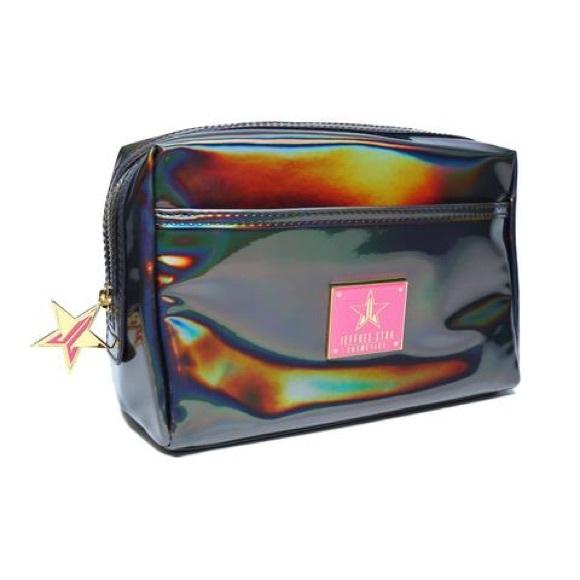 Jeffree Star Handbags - Jeffree star black holographic makeup bag